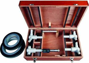 Mitutoyo 468 975 Digimatic Holtest Lcd Inside Micrometer 100 200mm