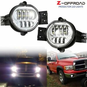 For 2002 2008 Dodge Ram 1500 2500 3500 2004 2006 Dodge Durango Led Fog Lights