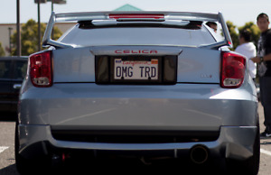 2000 01 02 03 04 2005 Toyota Celica Trd Style Rear Lower Lip Body Kit
