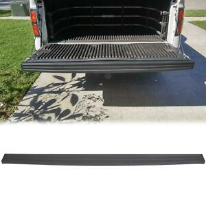 For 09 14 Ford F150 Trunk Top Protector Cover Rear Tailgate Moulding Cap Black