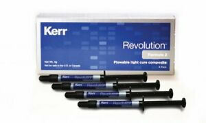 Kerr Revolution Formula 2 Flowable Light Cure Composite A3 5 4 Pack 29496