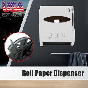 Heavy Duty Roll Paper Towel Dispenser Wall Mount Commercial Home Use