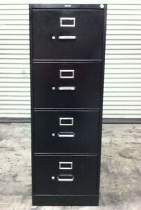 Hon 310 Series Vertical File Cabinet Locking 4 drawer Legal Size