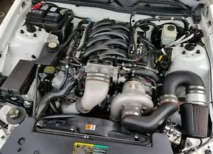05 09 Ford Mustang Paxton Supercharger Engine Motor Auto Trans Complete 49k