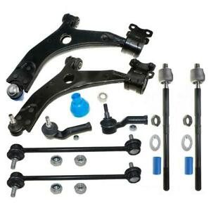 8 New Kit Lower Control Arm And Ball Joint Sway Bar For Volvo C30 2008 2011