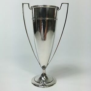 Rare Tiffany Co Sterling Silver Trophy Vintage Loving Cup Vase Urn 8 25 H 403