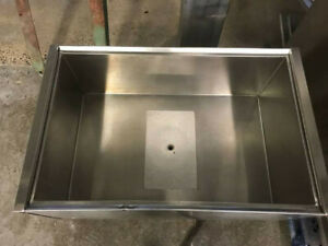 Suprememetal Stainless Steel Ice Bin With Cold Plate 14 Line