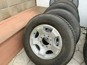 2016 Ford F 250 Oem Aluminum Factory Wheels And Tires