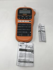 Brother Pt e105 P touch Edge Handheld Industrial Label Maker W interactive Menu