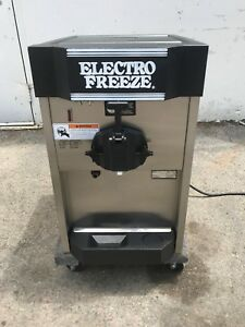 2008 Electrofreeze Cs4 Soft Serve Ice Cream Frozen Yogurt Machine Warranty