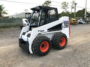 2001 Bobcat 763 Open Cab Kubota Engine Standard Controls New Tires