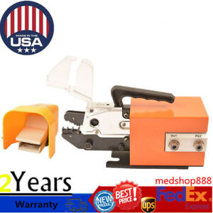 Pneumatic Air Powered Crimping Machine Tools Wire Terminals Set 0 4 1mpa