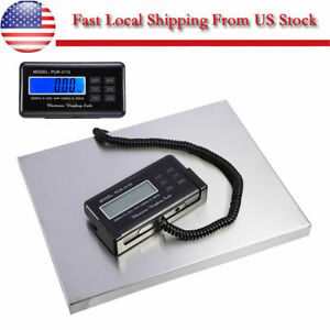 Postal Scale 660lb 0 1lb Digital Weight Postage Shipping W ac Us Shipping