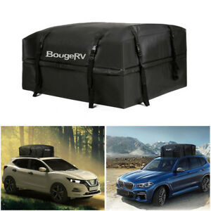 Car Suv Roof Top Cargo Carrier Bag Luggage Storage Travel Waterproof For Jeep