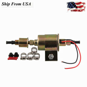 New E8012s 12v Universal Low Pressure Electric Diesel Casoline Fuel Pump Kit