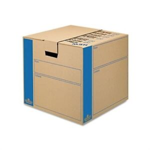 Smoothmove Moving storage Box Extra Strength Medium 18w X 18d X 16h Kraft