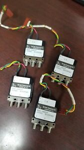 Relcomm Rds sr027 Rf Switch Lot Of 4