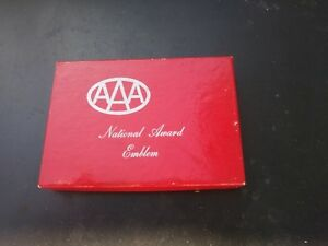 Vintage Gm Accessories Nos Aaa Automobile Badge 30 s 40 s 50 s 60 s