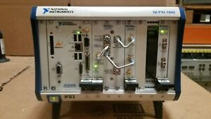 National Instruments Ni pxi 1042 With Modules Read