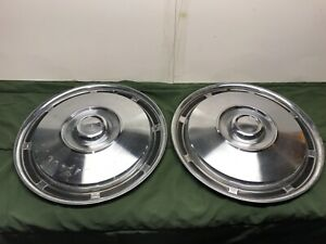 Viintage Hubcaps Wheelcover 15 Classic Car Trailer 1960 1970 400910
