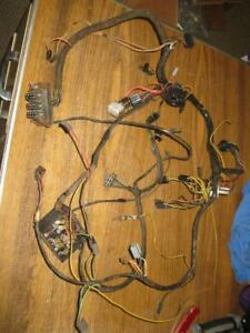 1969 70 Roadrunner Coronet Dash Cluster Wiring Harness Clean Plymouth Dodge