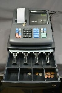 Sharp Electronic Cash Register Model Xe a106 Key color Black