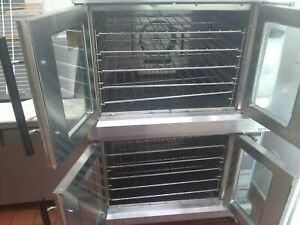 Used Few Time Double Electric Lang Oven In Great Condition