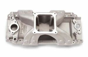 Edelbrock 2907 Big Block Chevy Victor 454 r Intake For Dominator Carburetor