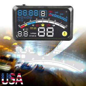 High Quality 5 5 Obd2 Car Gps Hud Head Up Display Overspeed Warning System