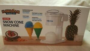 Snow Cone Machine s700 By Hawaiian Shaved Ice Snow Cones And Slushies In
