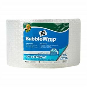 Duck Brand Large Bubble Wrap Roll 5 16 Large Bubble Cushioning 12 X 100 P