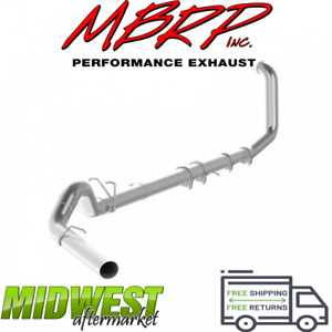 Mbrp 5 Turbo Back Exhaust W o Muffler For 99 03 Ford F250 F350 7 3l Powerstroke