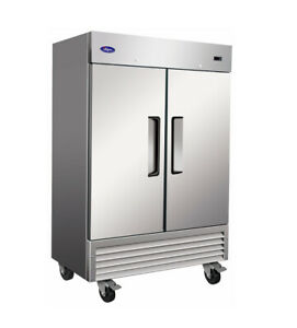 Valpro Vp2f Two door Reach in Freezer 49 Cu Ft Ss Nsf