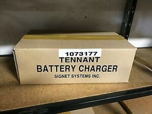 Tennant Battery Charger 1073177 24vdc 11a 100 240v 50 60hz