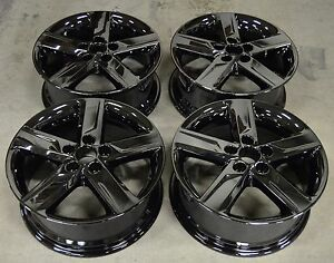17 Toyota Camry 2012 2013 2014 Factory Oem Rim Wheel 69604 Pvd Black Chrome Set