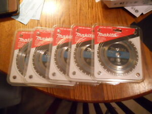 5 Blades Makita 5 3 8 Carbide Tipped Saw Blades for Metal Cutting part A95037