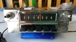 1966 Ford Mustang 6tpz Am Radio With Internal Fm Converter Works Great