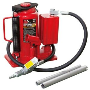 Big Red Air Hydraulic Bottle Jack 20 ton Auto Garage Construction