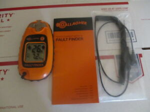 Gallagher Fault Finder Electric Fence Tester smart Fix g50905