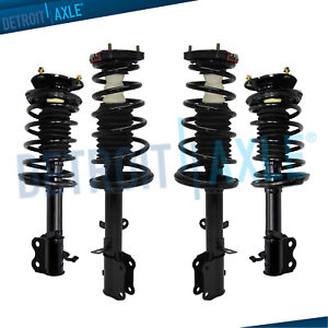 Fit 1993 1998 1999 2000 2001 2002 Corolla Prizm Front Rear Struts Coil Spring