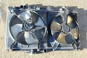 1997 2001 Honda Prelude Radiator W Fans And Shroud Assembly K8152