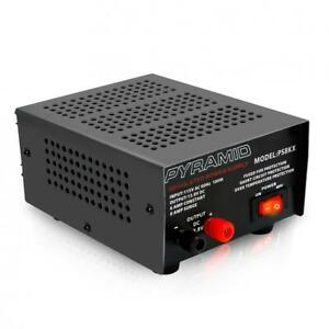 Pyramid Bench Power Supply Ac to dc 5 0 Amp Car vehicle Power Outlet ps9kx