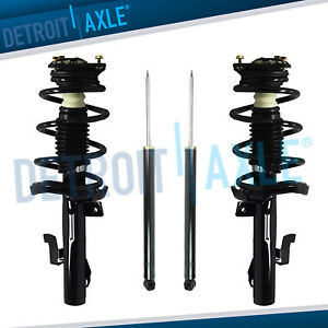 Mazda 5 3 Struts Complete Assembly Shock Absorbers Fits Both Front And Rear