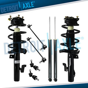 Mazda 5 3 Struts Shock Absorbers Sway Bars For Both Front And Rear Sides