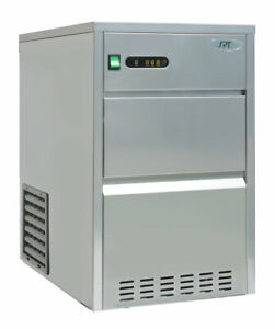 44 Lbs Automatic Stainless Steel Ice Makerim 442c