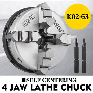 K02 63 2 5 63mm M14 Reversible Lathe Chuck 2 5 Inch 4 jaw Cnc Machines Newest
