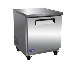 Valpro Commercial Refrigeration Vpucf27 Freezer Undercounter Reach in Nsf