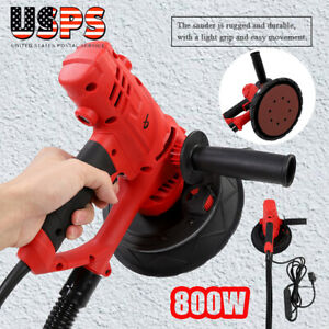 Electric Handheld Drywall Sander 1580w Variable Speed With Vacuum