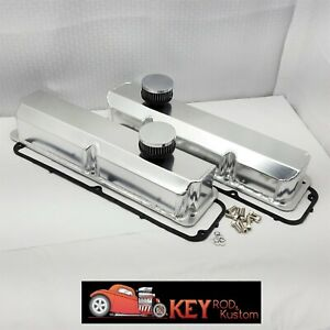 Big Block Ford Fe Fabricated With Open Breathers Aluminum Valve Covers 390 428
