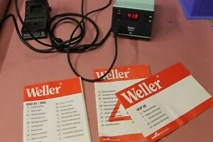 Weller Wsd81 Soldering Station With Stand And Wsp80 Soldering Pencil